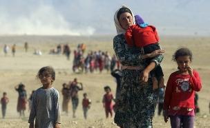 מחצית מהפליטים - ילדים (צילום: רויטרס, חדשות)