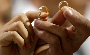 26% מתחתנים לפני גיל 21 (צילום: AP, חדשות)
