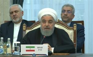 הלחץ יגבר, נשיא אירן רוחאני (צילום: ללא, חדשות)