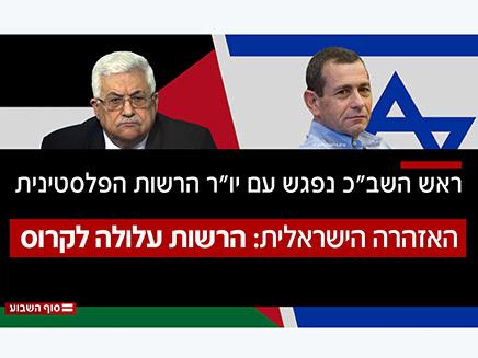 ההצעה של ישראל לרשות הפלסטינית
