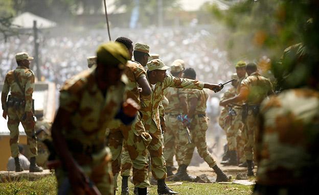 צבא אתיופיה, ארכיון (צילום: רויטרס, חדשות)