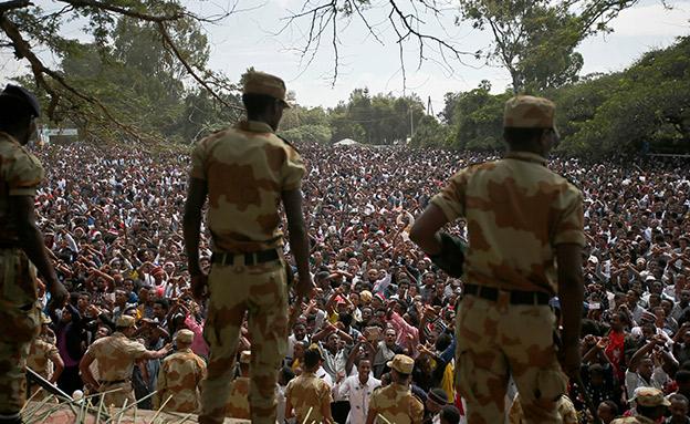 ניסיון הפיכה לילי. אתיופיה, רכיון (צילום: רויטרס, חדשות)