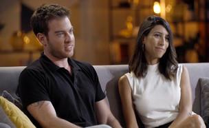 רגע ההחלטה: האם שרונה וליאור יישארו יחד? (צילום: מתוך