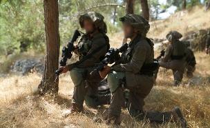 """חיילים בתרגיל, לתמונה אין קשר לכתבה (צילום: דובר צה""""ל, חדשות)"""