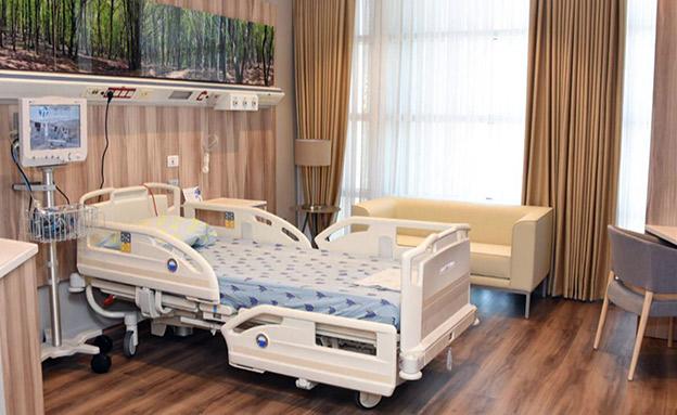 חדרי VIP  לתורמי איברים (צילום: החדשות)