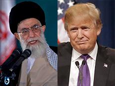טראמפ הטיל סנקציות על מנהיג אירן