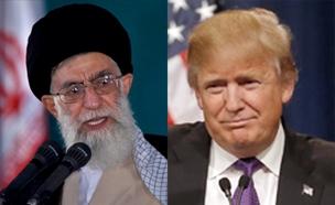 טראמפ הטיל סנקציות על מנהיג אירן (צילום: רויטרס, חדשות)