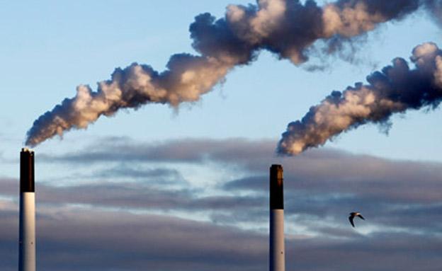 זיהום אוויר (אילוסטרציה) (צילום: רויטרס, חדשות)