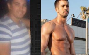 אלעד: לפני ואחרי (צילום: instagram)