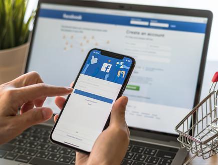 פייסבוק, לוגו, רשת חברתית, סמארטפון