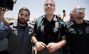 שחרור קטוסה ממעצר. היום (צילום: פלאש 90, חדשות)