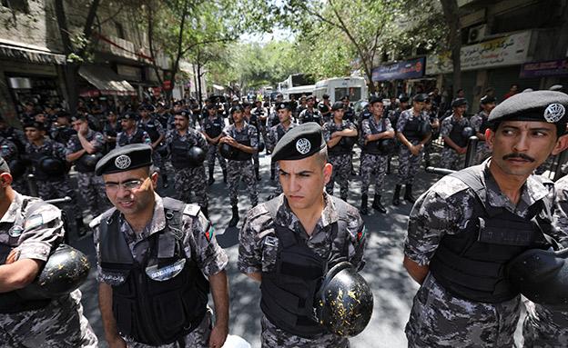 מנגנוני הביטחון של הרשות הפלסטינית (צילום: רויטרס, חדשות)