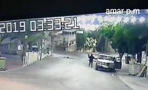 תיעוד שוד בכפר בצפון (צילום: חדשות)