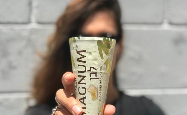 טילון שוקולד לבן, מגנום (צילום: דניאל סיילן, אוכל טוב)