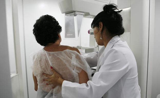 בדיקת סרטן שד (אילוסטרציה) (צילום: רויטרס, חדשות)