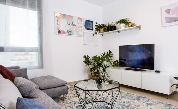 דירה ברחובות, עיצוב נעמה אתדגי - 1 (צילום: יונתן תמיר)