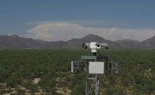 """מגדלי תצפית של אלביט בגבול ארה""""ב מקסיקו (צילום: Elbit, חדשות)"""
