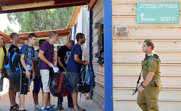 """מתגייסים טריים בבקו""""ם. ארכיון (צילום: Yossi Zeliger/FLASH90, חדשות)"""