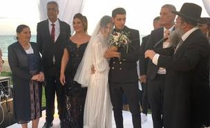 מגי אזרזר וקותי סבג מתחתנים, יוני 2019 (צילום: mako)