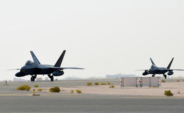 החמקנים בקטר, השבוע (צילום: חיל האוויר האמריקני, חדשות)
