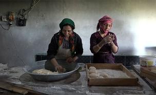 כפר נשים בסוריה (צילום: החדשות)