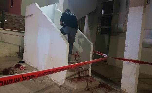 """חשד לרצח: ירי ליד בי""""ס בשפרעם (צילום: דוברות המשטרה, חדשות)"""