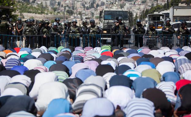 דריכות מוגברת בירושלים, ארכיון (צילום: Flash 90, חדשות)