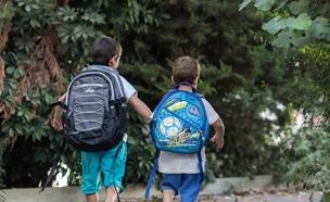 בית ספר כיתה תלמידים תלמיד ילדים ילד (צילום: פלאש 90 \ Yonatan Sindel, חדשות)