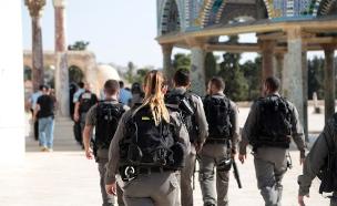 מהומות במזרח ירושלים, ארכיון (צילום: דוברות המשטרה, חדשות)