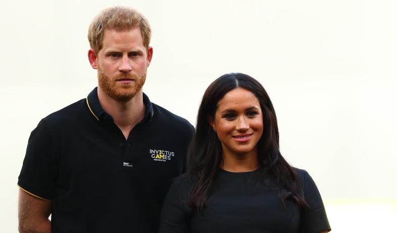מייגן מרקל והנסיך הארי (צילום: Dan Istitene / Staff /Getty Images)