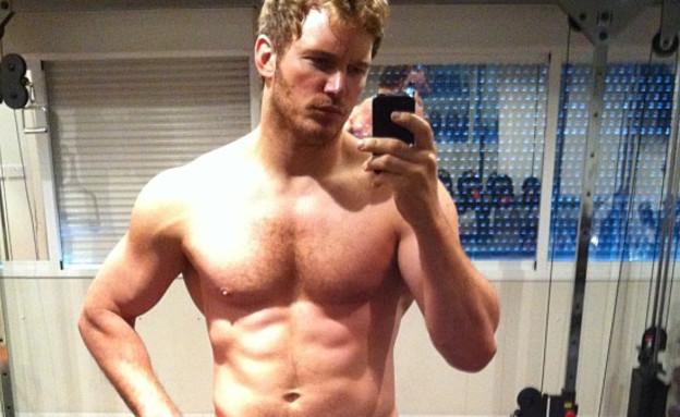 כריס פראט (צילום: instagram)