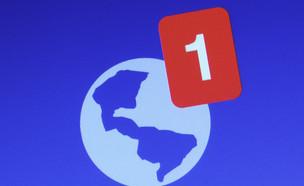 התרעות אדומות בפייסבוק (צילום: dolphfyn, ShutterStock)