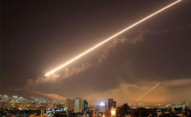 תקיפה בסוריה, ארכיון (צילום: SANA, חדשות)