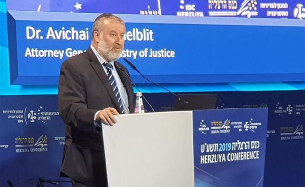 אביחי מנדלבליט, היועץ המשפטי לממשלה (צילום: חדשות)