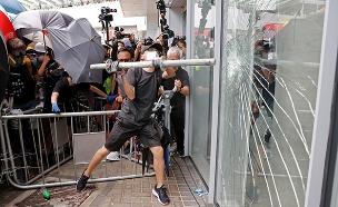 התפרעויות בהונג קונג (צילום: רויטרס, חדשות)