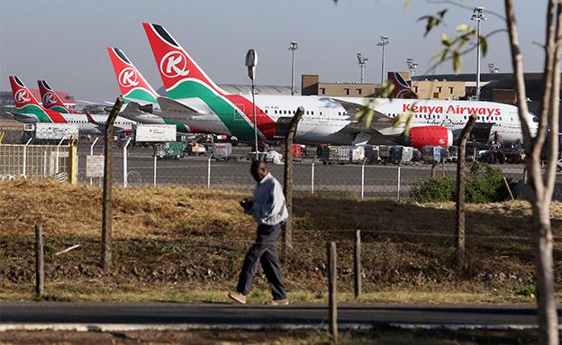 מטוסי קניה איירווייז (צילום: רויטרס, חדשות)