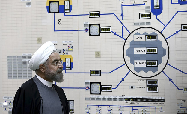 Hassan Rouhani Bechhar Bechor (Photo: AP)