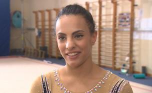 """המתעלמת האולימפית קוטפת קמפיין ראשון (צילום: מתוך """"ערב טוב עם גיא פינס"""", קשת 12)"""