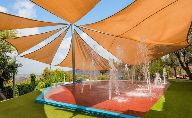 מזרקות מים (צילום: מלון סי הוטל)