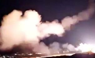 בין 10 ל-12 מטרות הותקפו לפי דיווחים (צילום: רויטרס, חדשות)