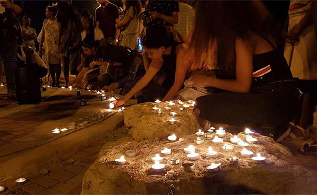 כיכר שאול המלך בבאר שבע (צילום: אביחי מרציאנו, רדיו דרום, חדשות)