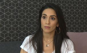 """בת אל לוי עוברת לגור עם החבר החדש (צילום: מתוך """"ערב טוב עם גיא פינס"""", קשת 12)"""