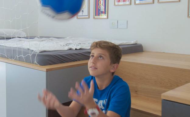 חדר ילדים, עיצוב עדי קליין, אחרי (צילום: שירי גולדשטיין פיקס)