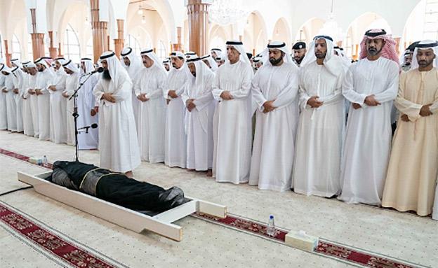 הלווית הנסיך ח'ליד בן סולטן אל-קסימי (צילום: חדשות)