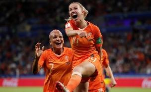 מונדיאל הנשים: הולנד העפילה לגמר (צילום: רויטרס, חדשות)