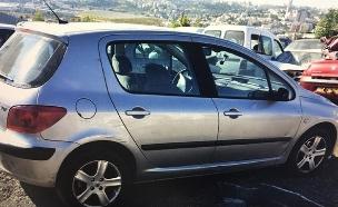 """הרכב שבו עפ""""י החשד בוצע האונס (צילום: דוברות המשטרה, חדשות)"""