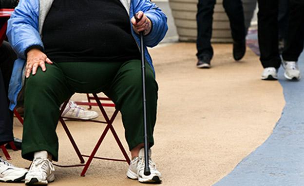 השמנת יתר מסוכנת יותר מסיגריות (צילום: רויטרס, חדשות)