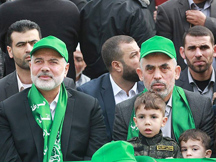 ראשי חמאס בעצרת בעזה, ארכיון