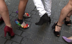 צפו במירוץ העקבים של מדריד (צילום: ללא, חדשות)