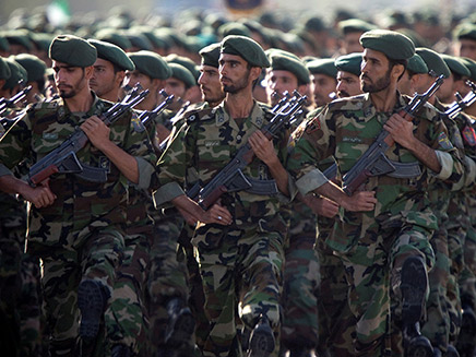 משמרות המהפכה (צילום: רויטרס, חדשות)